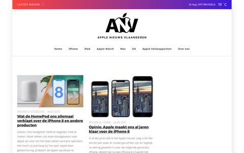 iPhone 8 Archieven | Apple Nieuws Vlaanderen