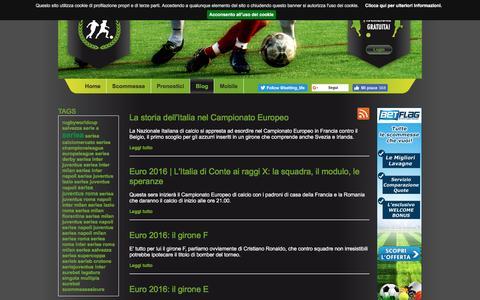 Screenshot of Blog bettinglife.it - Il Blog di BettingLife - - captured July 29, 2016