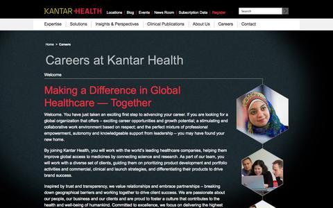 Kantar Health Jobs and Careers