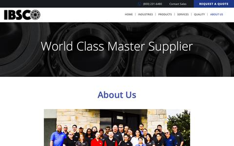 Screenshot of About Page ibsco.com - About US | IBSCO Admin - captured Nov. 5, 2018