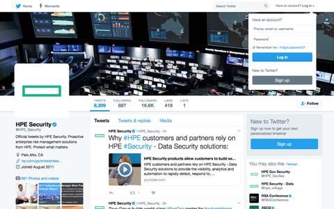 HPE Security (@HPE_Security)   Twitter