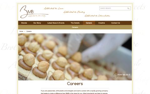 Screenshot of Jobs Page bmb-group.com - Careers - captured Sept. 30, 2014