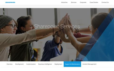 SharePoint Services - Development, BI, Deployement, Supoort & Maintenance, Content Management