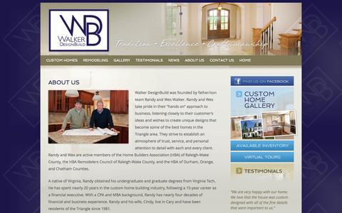 Screenshot of About Page walkerbuild.com - About Us - Walker DesignBuild - captured Oct. 27, 2014