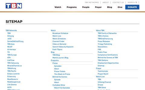 High traffic Media Site Map Pages on Drupal | Website