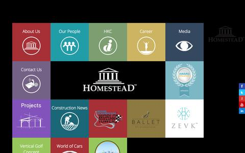 Screenshot of About Page Contact Page homesteadinfra.com - Homestead Infrastructure Development | Boutique Branded Residencies | Luxury | Premium | Exclusive Housing, Flats & Apartments in Gurgaon/Delhi NCR | India - captured Oct. 3, 2014