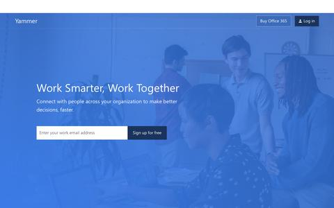 Yammer: Work Smarter, Work Together