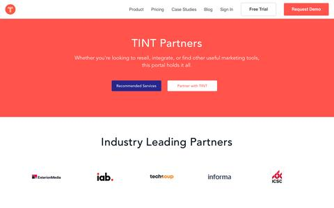 Partners | TINT: Create Authentic Stories in Moments