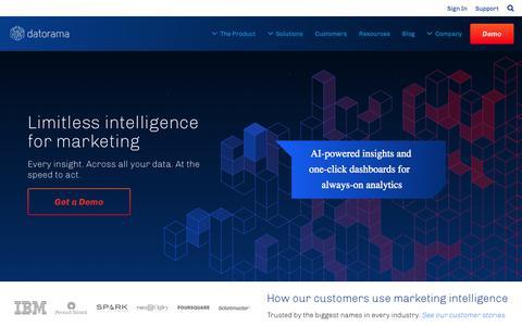 Homepage | Datorama