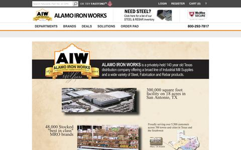 Screenshot of About Page aiwdirect.com - About Us | AIWdirect.com - captured Nov. 20, 2016