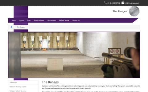Screenshot of About Page theranges.co.uk - The Ranges » MS Instruments PLC - captured Nov. 6, 2017