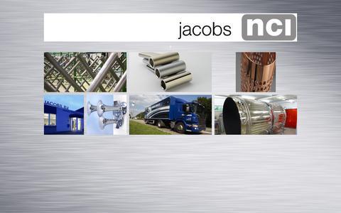 Screenshot of Home Page jacobs-nci.com - jacobs NCI -jacobs NCI - captured June 17, 2015