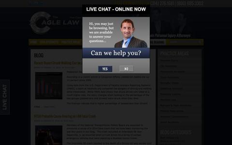 Screenshot of Blog allinjuryattorney.com - Personal Injury Blog | St. Louis Personal Injury Attorneys - captured Feb. 15, 2016