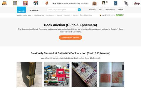 Book auction (Curio & Ephemera) - Catawiki
