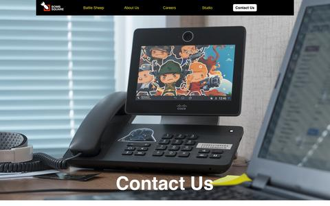Screenshot of Contact Page bombsquare.com - bombsquare - contact us - captured Jan. 7, 2016