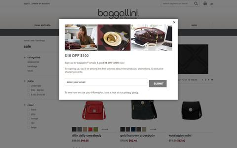 Handbags on Sale at baggallini - Free Shipping over $100