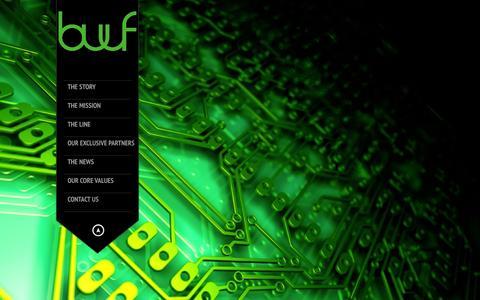 Screenshot of Home Page bwfiberglass.com - B&W Fiber Glass - captured Oct. 2, 2014