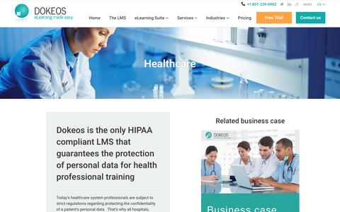 Healthcare - HIPAA compliant LMS and e-learning