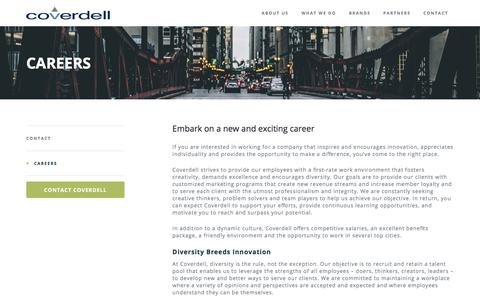 Screenshot of Jobs Page coverdell.com - Careers   Coverdell - captured July 22, 2018