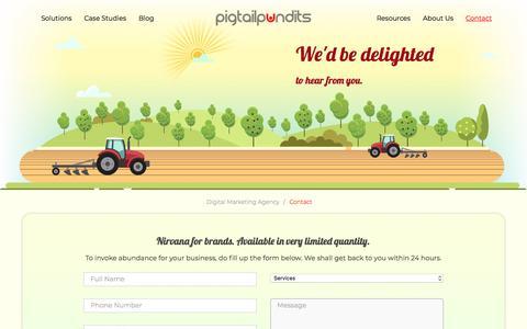 Screenshot of Contact Page pigtailpundits.com - Contact - PigtailPundits - captured Aug. 15, 2018