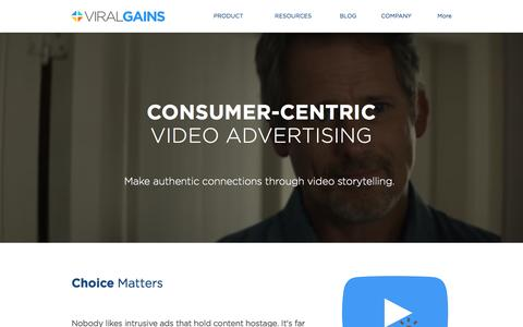 ViralGains | Consumer-Centric Video Advertising
