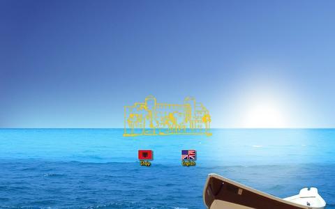 Screenshot of Home Page adriatikhotel.com - Adriatik Hotel - captured Oct. 3, 2014