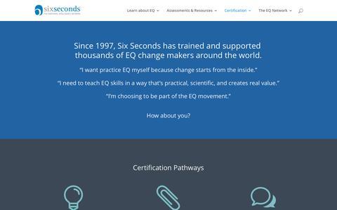 The Emotional Intelligence Certification Training: EQ Certification