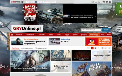 GRY-OnLine.pl - Gry Online dla wszystkich, Gry Komputerowe, Gry na Konsole, Darmowe Gry - wszystko o grach