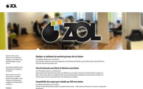 Screenshot of Blog zol.fr - ZOL - Le blog - captured Nov. 29, 2016