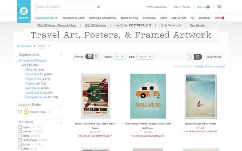 Travel Art & Framed Artwork | Zazzle
