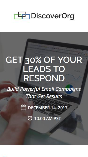 Get 30% Response From Leads