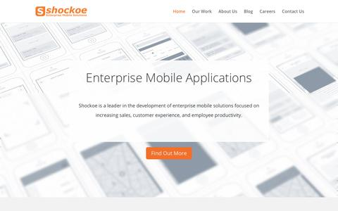 SHOCKOE | Mobile Enterprise Solutions | Android | Apple | VR | VOICE