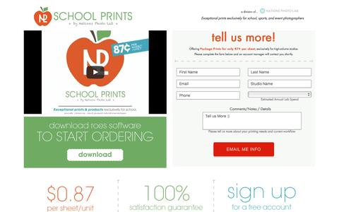 School Prints - Brought to you by Nations Photo Lab