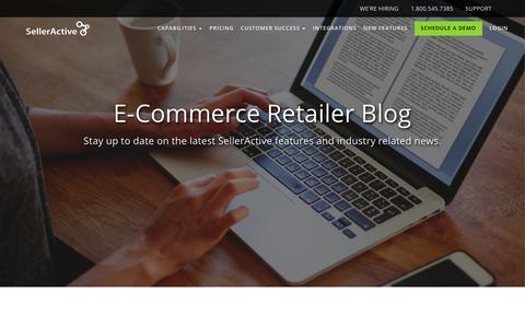 Screenshot of Blog selleractive.com - SellerActive | Multichannel E-Commerce Blog - captured June 24, 2017
