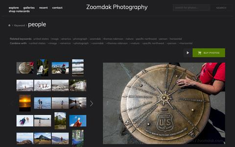Screenshot of Team Page zoomdak.com - Zoomdak - Nature and Landscape Photography by Pacific Northwest Photographer Thomas Robinson Photo Keywords: people - captured Sept. 27, 2018