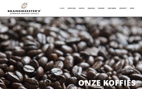 Screenshot of Home Page brandmeesters.nl - Home » Brandmeesters - captured Jan. 7, 2016