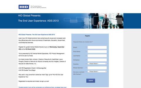 Screenshot of Landing Page hidglobal.com captured March 16, 2016