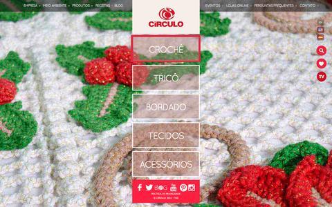 Screenshot of Home Page circulo.com.br - Linhas Circulo – Sempre em linha com você. - captured Nov. 6, 2016