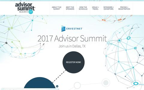 Envestnet Advisor Summit 2017