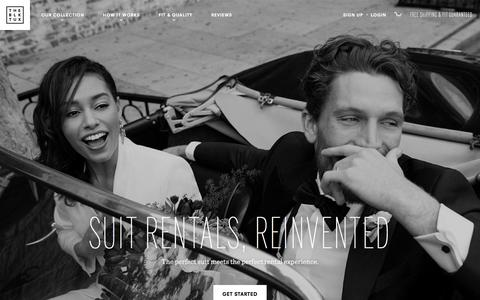 Premium Suit & Tuxedo Rentals, Delivered. | The Black Tux