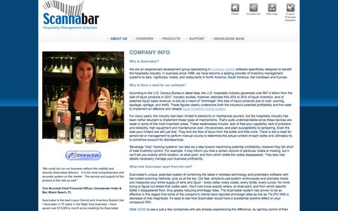 Screenshot of About Page scannabar.com - Barcode inventory control, Hotel inventory control - captured Oct. 4, 2014