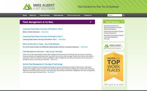 Screenshot of Blog mikealbert.com - Blog - captured Oct. 27, 2014