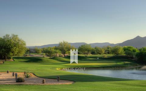 Screenshot of Home Page arcisgolf.com - Arcis Golf - captured Dec. 6, 2015