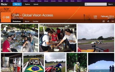 Screenshot of Flickr Page flickr.com - Flickr: Global Vision Access' Photostream - captured Oct. 28, 2014