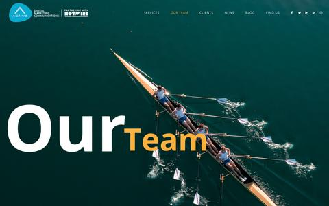 Screenshot of Team Page activedmc.com - Active Dubai –  Our Team – ActiveDubai - captured July 6, 2019