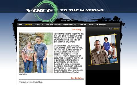 Screenshot of About Page publishpath.com - About Us   Voice to the Nations - captured Oct. 26, 2014