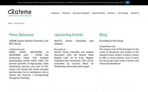 News & Events - Ateme