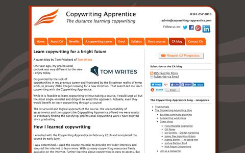 The Copywriting Apprentice blog Archives - Copywriting Apprentice