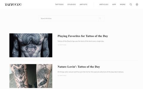 Discover artists | Tattoodo