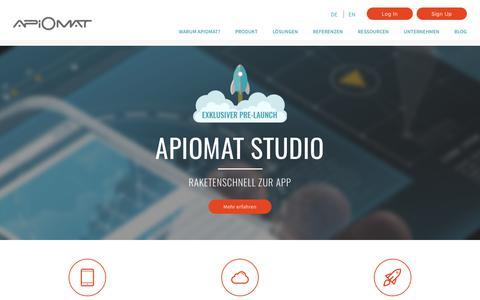 ApiOmat Studio – ApiOmat